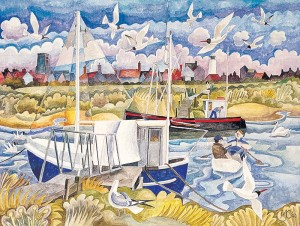 20-Southwold-from-the-Harbour