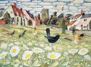 68-Daisies-on-a-village-green